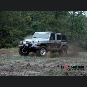 "Jeep Wrangler JK Unlimited X-Series Suspension Lift Kit w/Vertex Reservoir Shocks - 4"" Lift"